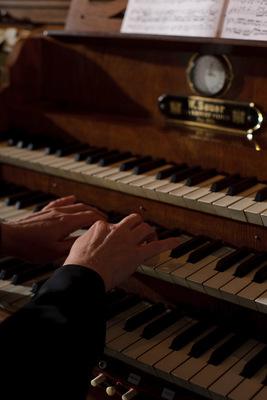 Orgelkonzert im Kerzenschein