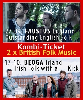 Bild: Kombi Ticket : FAUSTUS 27.09. + BEOGA 17.10..