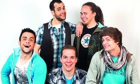 Bild: Musik im Keller - Vorlaut - A-capella-Comedy