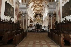 Bild: Gästeführung Abteikirche mit Orgelvorspie