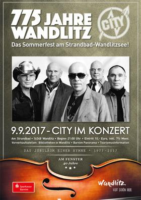 Bild: CITY im Konzert - 775 Jahre Wandlitz