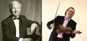 Bild: Christoph Schickedanz (Violine), Pavel Gililov (Klavier)