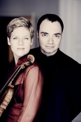 Bild: Isabelle Faust (Violine) & Alexander Melnikov (Hammerflügel)