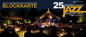 Bild: BLOCKKARTE (Alle sechs Sommernachtskonzerte im Botanischen Garten)