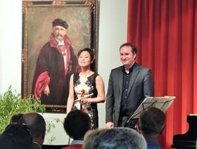 Bild: Gedenkkonzert anlässlich des 100.Todestages von Philipp Scharwenka - Christian Seibert (Klavier), Jung Won Seibert-Oh, (Violine)