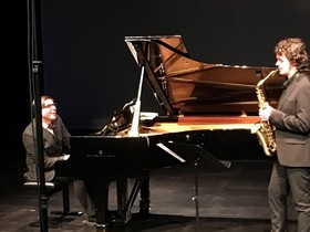 Bild: Sax meets Piano