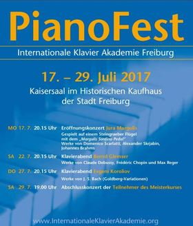 Bild: PianoFest der Internationalen Klavier Akademie Freiburg - Abonnement