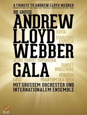 Bild: Die große Andrew Lloyd Webber Gala - mit Orchester und internationalem Ensemble