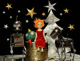 Bild: Ritter Rost feiert Weihnachten - Figurentheater Mensch, Puppe!