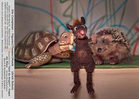 Bild: Hast Du Angst, fragte die Maus