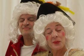 Bild: Frau Silberklang, Mozart und der Vogelsang