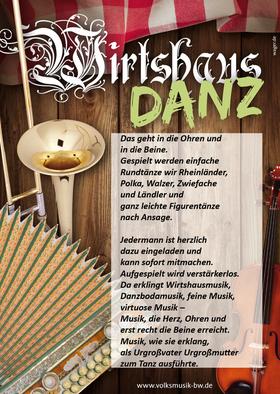 Bild: WirtshausDanz mit DanzMäg - Ein unterhaltsams Projekt des Landesmusikrats