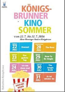 Bild: Königsbrunner Kinosommer 2016 - Königsbrunner Kinosommer 2016