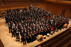 Bild: 4. Orchesterkonzert - Sinfonieorchester trifft japanische Taiko-Trommler