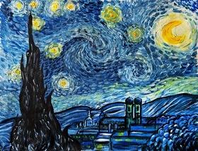 Bild: Artmasters - PaintParty - Paint like Vincent