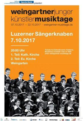 Bild: Eröffnungskonzert: Luzerner Sängerknaben