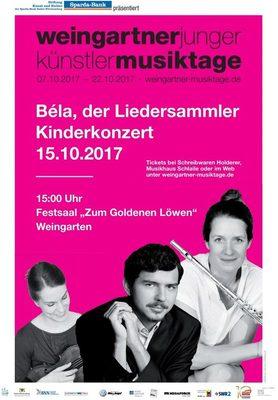 """Bild: """"Kinderkonzert: Béla, der Liedersammler"""""""