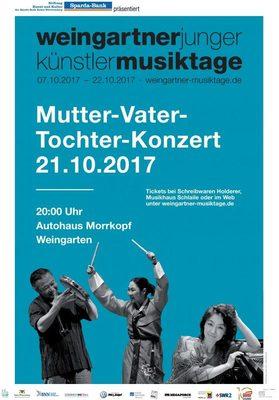 "Bild: Mutter – Vater – Tochter – Konzert ""Trio Konflikt"""