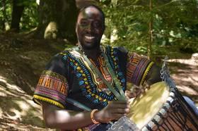 Bild: Ismael Seck und Aziz Kuyateh - Afrikanischer Abend