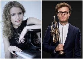 Bild: 2. Kammerkonzert - Simon Höfele (Trompete), Magdalena Müllerperth (Klavier)