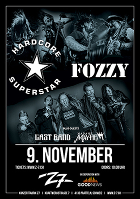 HARDCORE SUPERSTAR - FOZZY