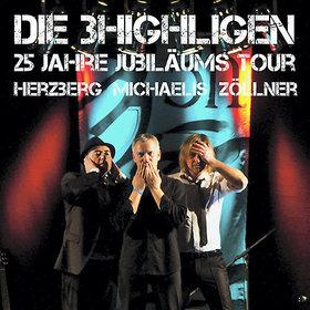 Bild: Die 3 HIGHligen: Dirk Michaelis, Dirk Zöllner, André Herzberg - 25 Jahre Jubiläumstour