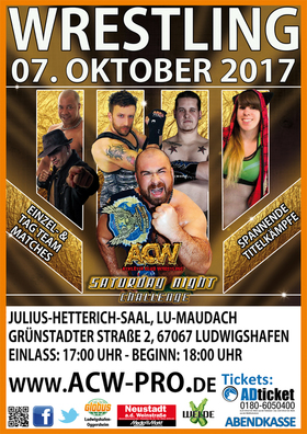 "Bild: ACW Pro German Wrestling - "" Saturday Night Challenge VI """