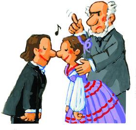 Bild: KINDERSZENEN  –  wie Schumanns Meisterwerk wirklich entstand…