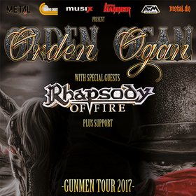 Bild: ORDEN OGAN Gunmen Tour 2017 - Orden Ogan & Special Guest Rhapsody of Fire