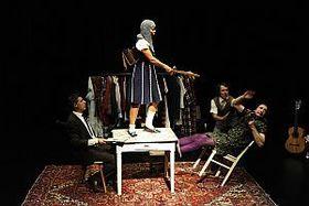 Bild: Die grandiosen Abenteuer der tapferen Johanna Holzschwert | 8+ - Theater Mummpitz, Nürnberg