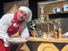 """Bild: Theater Tom Teuer - """"Die Weihnachtsbäckerei"""" - Kindertheater für Kinder ab 4 Jahren & die Familie"""