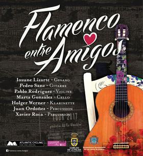 Bild: Flamenco der guten Laune an einem Sommerabend - Start der Europatournee am Neckar