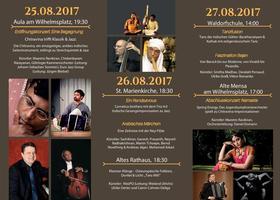 Bild: Indische Gesangimprovisation zu Jazz, Eine Zeitreise mit der Ney-Flöte und Kanun