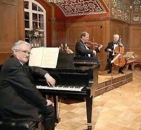 Bild: Johann Strauß und seine komponierenden Zeitgenossen