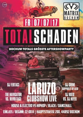 TOTALSCHADEN - #selcuk.selin // Bochum Totals größte Aftershowparty