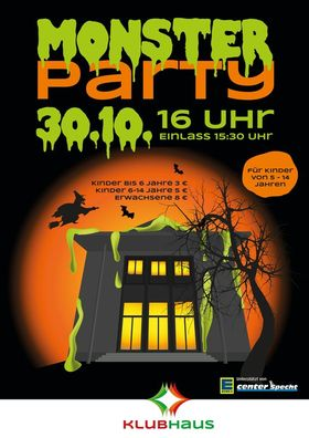 Bild: Monsterparty zu Halloween