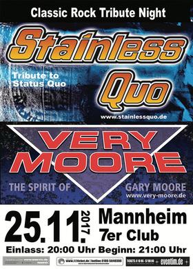 Bild: Classic Rock Tribute Night - Status Quo & Gary Moore