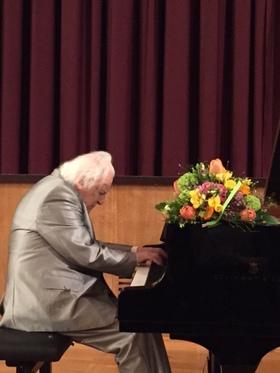 Bild: Beethovenabend mit Jörg Demus