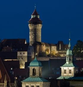 Bild: Advent auf der Kaiserburg