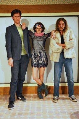 Bild: Comedy@Sparkasse - Ellsässer, Kondschak, Nacken -