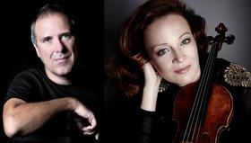 Bild: Carolin Widmann (Violine) & Alexander Lonquich (Klavier)