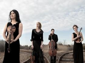 Bild: Daedalus Quartett - Min-Young Kim, Violine; Matilda Kaul, Violine;