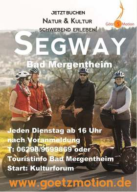 Bild: Segway-Tour Bad Mergentheim After Work - Segway-Tour Bad Mergentheim After Work