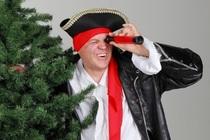 Lila Lindwurm: Piet, der Weihnachtspirat