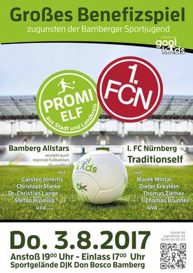 Bild: Bamberg Allstars - 1. FC Nürnberg Traditionself - Großes Benefizspiel