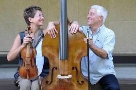 Bild: Bach Meditation mit Maya Homburger & Barry Guy