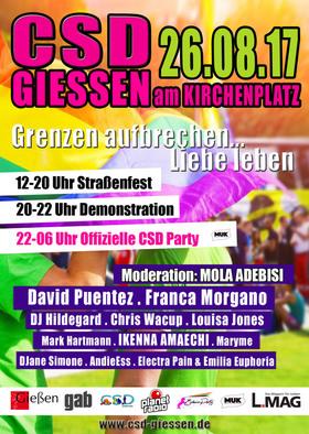 Bild: CSD-Giessen 2017 - Die offizielle After Show Party - CSD-Giessen 2017