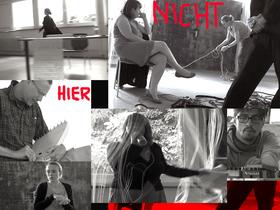 """Bild: """"Nicht Hier"""" Musikalische Performance"""
