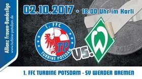 Bild: 1. FFC Turbine Potsdam - SV Werder Bremen