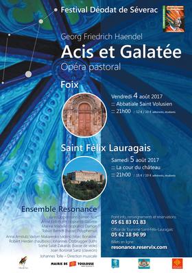 Bild: Acis et Galatée - Opéra pastoral